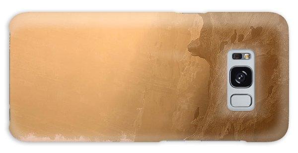 Cormorant Rookery In Dawn Fog Galaxy Case by Max Allen