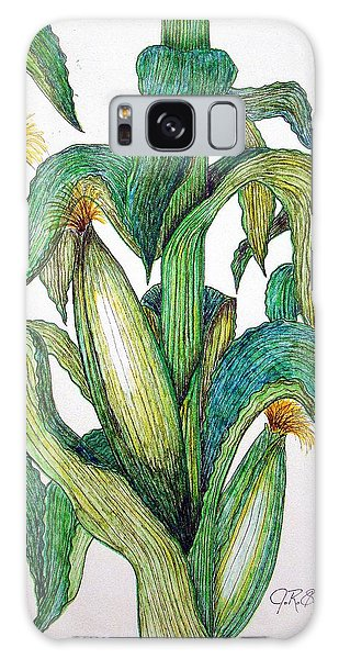Corn And Stalk Galaxy Case