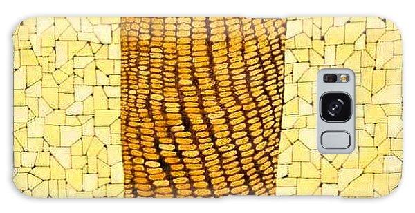 Galaxy Case - Corn by Emil Bodourov