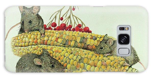 Corn Meal Galaxy Case by Terri Mills