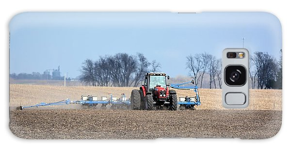 Corn Planting Galaxy Case by Bonfire Photography