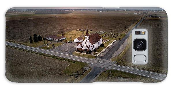 Corner Church Galaxy Case