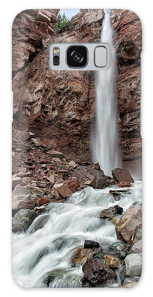 Cornet Falls In Spring Galaxy Case