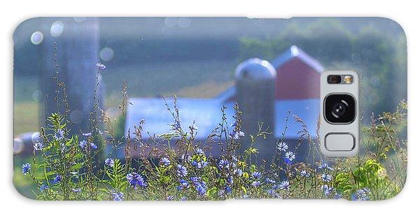 Wellsboro Galaxy Case - Cornflower And Barn by Bernadette Chiaramonte