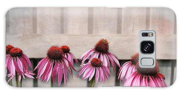 Coneflower Couples Galaxy Case