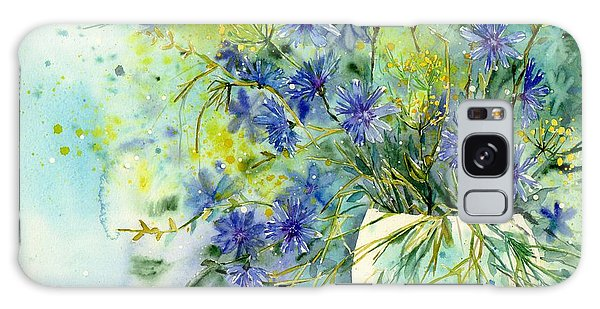 Montana Galaxy Case - Cornflowers Symphony by Suzann Sines