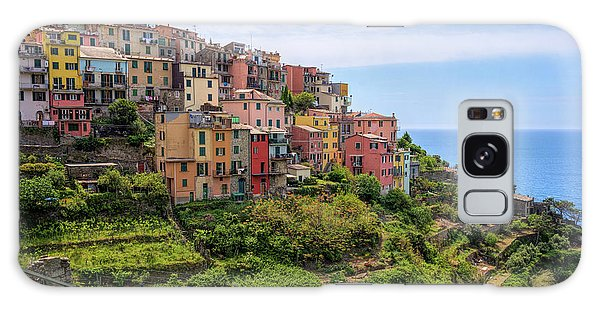 Corniglia Cinque Terre Italy Galaxy Case
