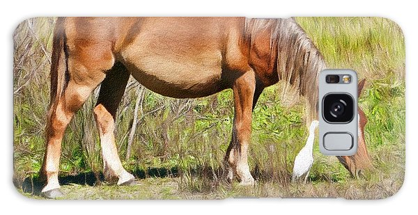 Corolla's Wild Horses Galaxy Case