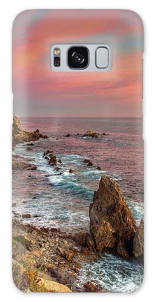 Corona Del Mar Coastline Galaxy Case