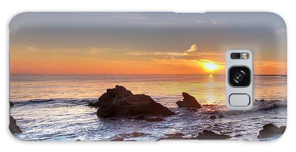 Corona Del Mar Sunset Panorama Galaxy Case