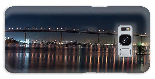 Coronado Bridge San Diego Galaxy Case by Gandz Photography