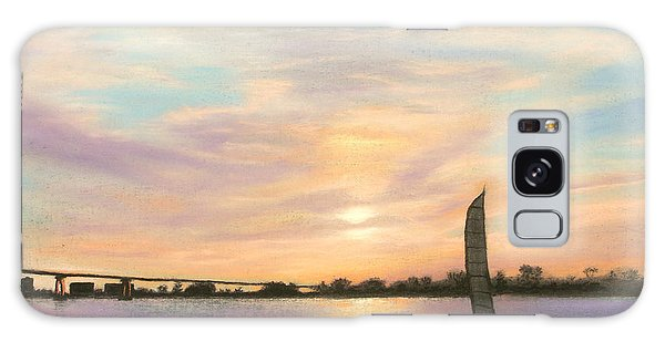 Coronado Bridge Sunset  B Galaxy Case
