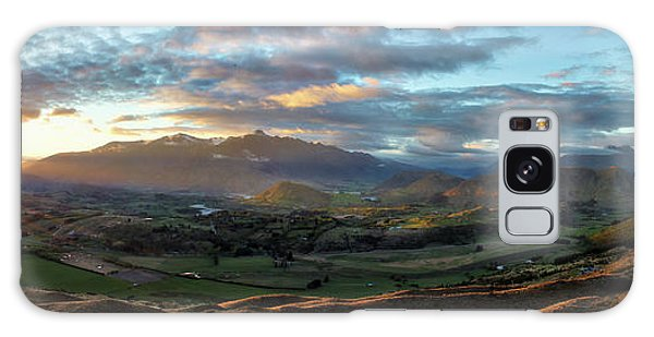 Coronet Peak And Skippers Canyon  Galaxy Case