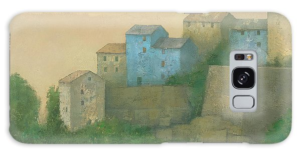 Corsican Hill Top Village Galaxy Case