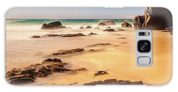 Corunna Point Beach Galaxy Case