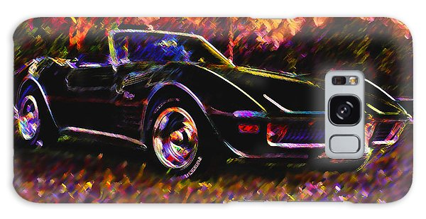 Corvette Beauty Galaxy Case by Stephen Anderson