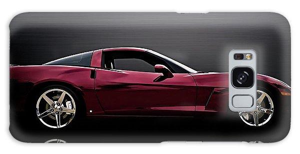 Chrome Galaxy Case - Corvette Reflections by Douglas Pittman