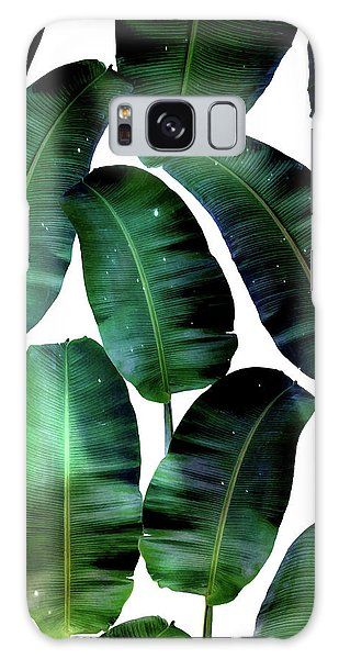Cosmic Banana Leaves Galaxy Case by Uma Gokhale