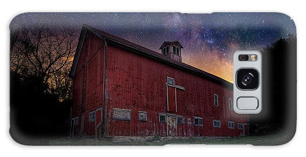 Galaxy Case featuring the photograph Cosmic Barn by Bill Wakeley