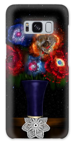 Cosmic Bouquet Galaxy Case