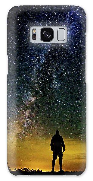 Cosmic Contemplation Galaxy Case