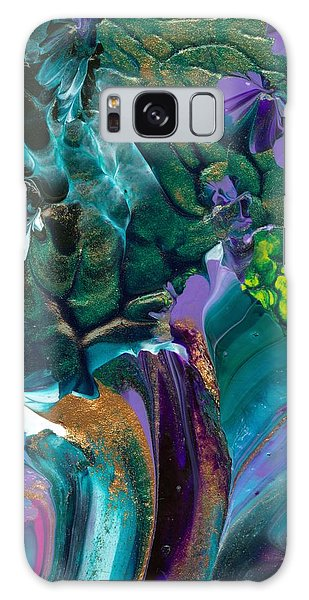 Cosmic Feathered Webbed Universe Galaxy Case