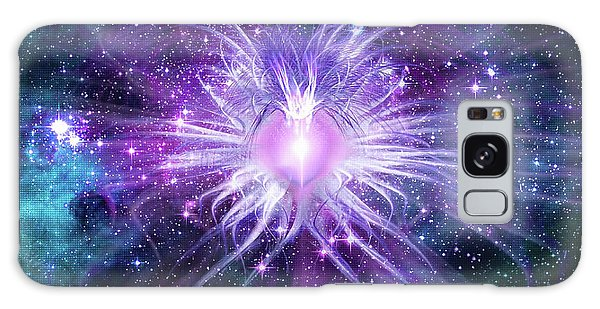 Cosmic Heart Of The Universe Mosaic Galaxy Case