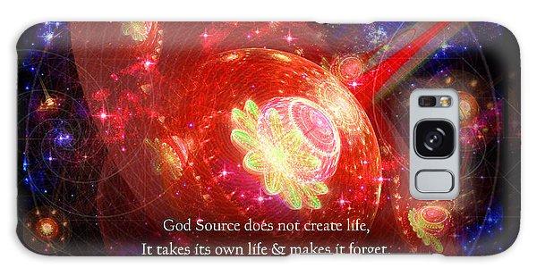 Cosmic Inspiration God Source 2 Galaxy Case