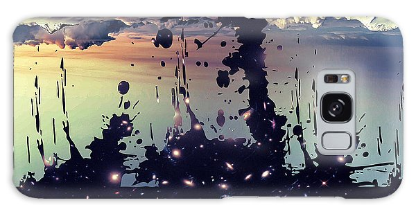 Galaxy Case featuring the photograph Cosmic Resoance No 3 by Robert G Kernodle