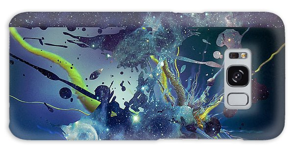 Galaxy Case featuring the photograph Cosmic Resonance No 1 by Robert G Kernodle