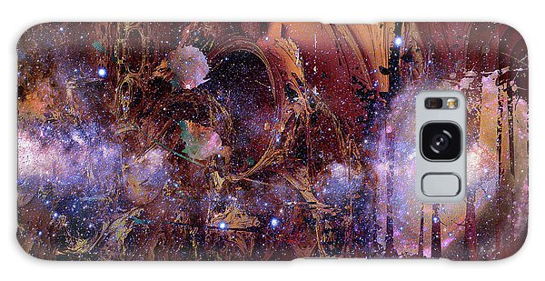 Galaxy Case featuring the photograph Cosmic Resonance No 2 by Robert G Kernodle