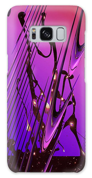 Galaxy Case featuring the photograph Cosmic Resonance No 6 by Robert G Kernodle