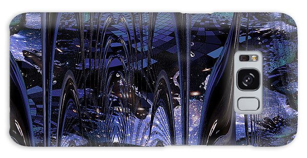 Galaxy Case featuring the photograph Cosmic Resonance No 8 by Robert G Kernodle