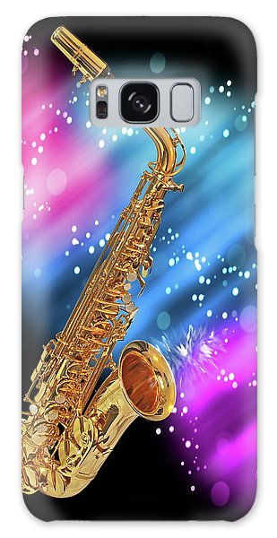 Cosmic Sax Galaxy Case