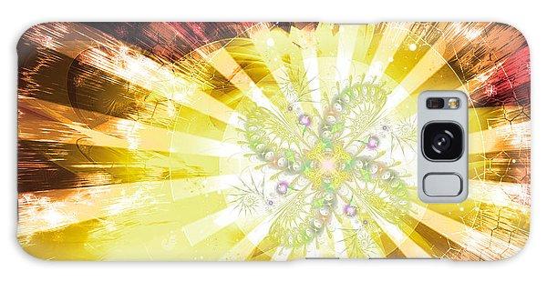 Cosmic Solar Flower Fern Flare 2 Galaxy Case by Shawn Dall