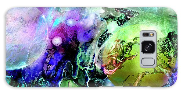 Galaxy Case featuring the painting Cosmic Web by John Dyess