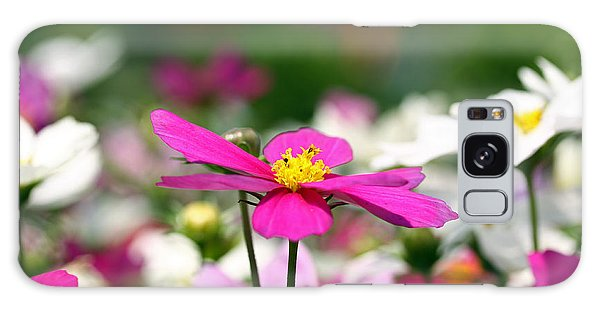 Cosmos Flowers Galaxy Case by Denise Pohl