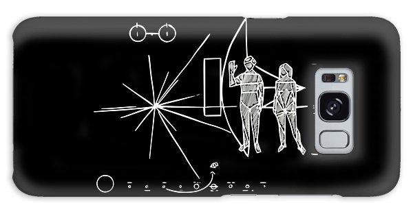 Cosmos Greetings  Galaxy Case