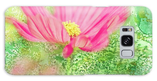Cosmos On Green Galaxy Case
