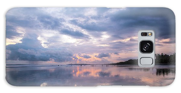 Galaxy Case featuring the photograph Costa Rican Sunset by David Morefield