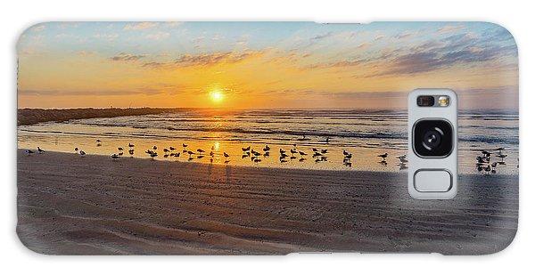 Coastal Sunrise Galaxy Case by Dave Files