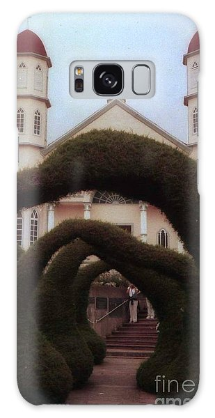 Costra Rica Garden Church Galaxy Case