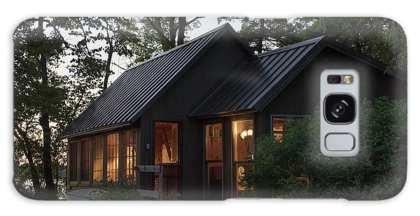 Galaxy Case featuring the photograph Cosy Cabin In The Woods by Gary Eason