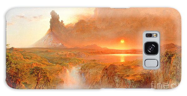 Central America Galaxy Case - Cotopaxi by Frederic Edwin Church