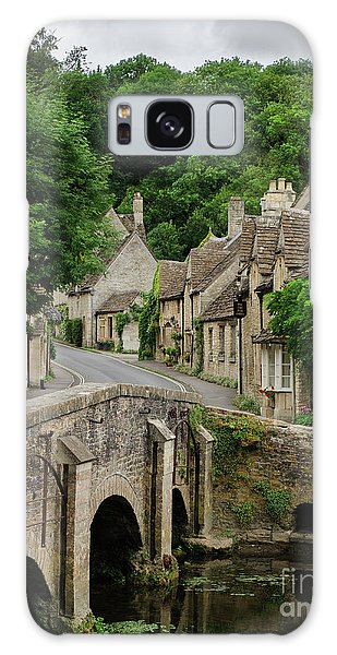 Cotswolds Village Castle Combe Galaxy Case by IPics Photography