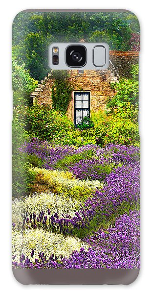 Cottage Amidst The Lavender Galaxy Case