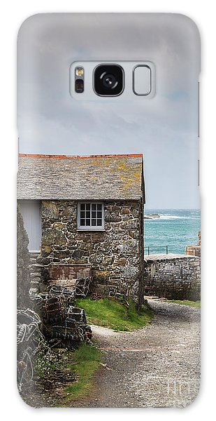 Cottage By The Sea Galaxy Case