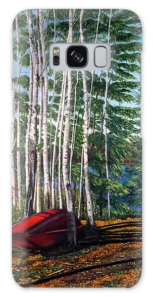 Cottage Country Galaxy Case