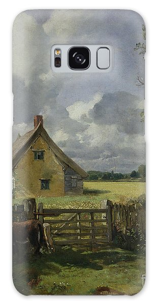 Cottage In A Cornfield Galaxy Case