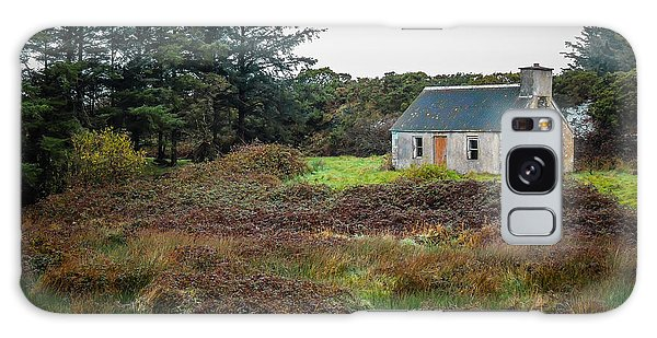 Cottage In The Irish Countryside Galaxy Case